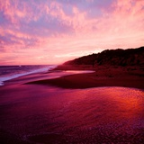 An Australian Sunset on a Beach Photographic Print by Mark James Gaylard