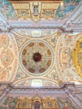 Ceiling of the Church of Hospital De Los Venerables Sacerdotes, Seville, Spain Photographic Print by Felipe Rodriguez