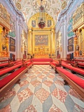 Interior of the Church of Hospital De Los Venerables Sacerdotes, Seville, Spain Photographic Print by Felipe Rodriguez