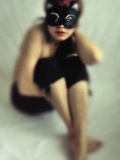 Cat Mask Photographic Print by Marta Orlowska