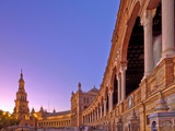 Plaza De Espana, Seville, Spain Photographic Print by Felipe Rodriguez