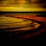 Abstract,Sea,Beach, Shore, Ocean, Sand, Horizon, Photographic Print by Mark James Gaylard