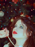 Christmas Dreamer Photographic Print by  Winter Wolf Studios