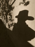 Shadowman Photographic Print by Steven Boone