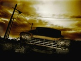 An Old Rusting Car Photographic Print by Mark James Gaylard