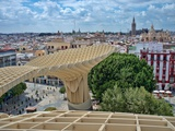 View from the Top of Metropol Parasol Structure, Seville, Spain Photographic Print by Felipe Rodriguez