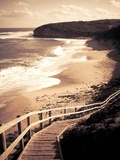 Steps Leading Down to a Beach Photographic Print by Mark James Gaylard