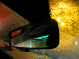 A Car Rear View Mirror Photographic Print by Jason Martin