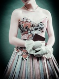 Demure Young Woman in Period Costume Photographic Print by  RedHeadPictures