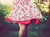 The Red Dress Photographic Print by Maren Slay