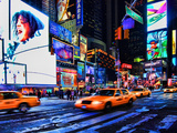 Times Square, Manhattan, New York City Photographic Print by Sabine Jacobs