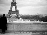 A View of the Eiffell Tower in Paris France Photographic Print by Mark James Gaylard
