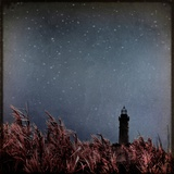 A Distant Lighthouse and Grass Photographic Print by Eudald Castells