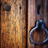 Iron Door Handle, Sedona Photographic Print by Jody Miller