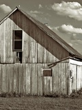 An Old Timber Barn in Ohio Photographic Print by Rip Smith