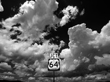 Junction 64 Cloudscape Photographic Print by Kevin Lange