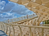 Walkway on the Top of Metropol Parasol Structure, Seville, Spain Photographic Print by Felipe Rodriguez