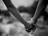 Holding Hands Photographic Print by Kevin Lange