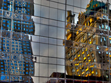 Reflections in Glass, Manhattan, New York City Photographic Print by Sabine Jacobs