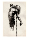 Chained Giclee Print by Jeff Langevin