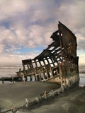 The Peter Iredale Photographic Print by Jody Miller