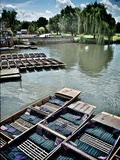 Punting Summer Photographic Print by Tim Kahane