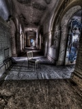Old Chair Old Hallway Photographic Print by Nathan Wright