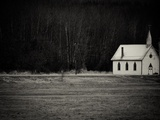 Little White Church Photographic Print by Sharon Wish