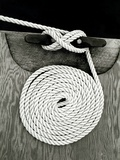 A Coiled Rope on a Dock Photographic Print by Rip Smith