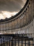 The Royal Cresecent in Bath, England Photographic Print by Tim Kahane