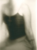 Female Clothed Torso, with Cross Photographic Print by Susan de Witt