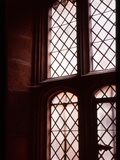 A Tudor Window with Latice Lead Work Photographic Print by Leonora Saunders