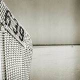 A Whicker Chair on the Beach Photographic Print by Katrin Adam