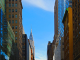5th Avenue and Chrysler Building, Manhattan, New York City Photographic Print by Sabine Jacobs