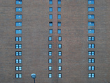Uniformity of City Living, Manhattan, New York City. Photographic Print by Sabine Jacobs