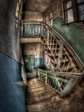 Lunatic Stairs Photographic Print by Nathan Wright
