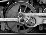 The Wheel of a Train Photographic Print by Rip Smith