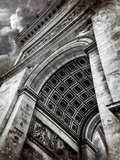 Clouds above the Arc Photographic Print by Andrea Costantini