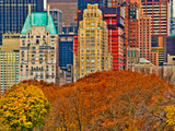 Central Park South, Manhattan, New York City Photographic Print by Sabine Jacobs