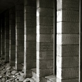 Concrete Blocks in a Building Photographic Print by Katrin Adam