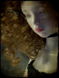 A Doll with Curly Red Hair Photographic Print by Kimberley Ross