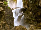 Rocks and Flowing, Silky Water, Austria. Photographic Print by Sabine Jacobs