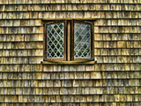 Single Window with Shingled Walls, Nantucket, Massachusetts. Photographic Print by Sabine Jacobs