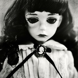 Sad Colette the Doll Photographic Print by Kimberley Ross