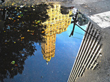 Reflections on Fifth Avenue, Manhattan, New York City Photographic Print by Sabine Jacobs