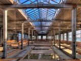 Hdr of Old Mill Interior No. 3 Photographic Print by Rip Smith