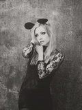 Mouse Photographic Print by Sabina Rosch