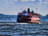 Staten Island Ferry, New York City Photographic Print by Sabine Jacobs