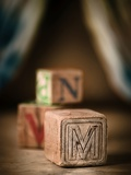 M and N Photographic Print by Janet Matthews