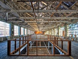 Hdr of Old Mill Interior Photographic Print by Rip Smith